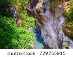 gorge scenery of jhuilu old...   Shutterstock . vector #729755815