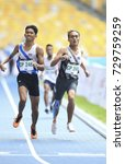 Small photo of KUALA LUMPUR, MALAYSIA 20 SEPTEMBER 2017: Para ASEAN athletes perform 800meter at the 9th Para ASEAN Sports Games, Bukit Jalil Atlantic Stadium, Kuala Lumpur.