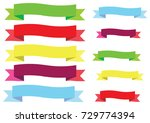 vector  representing labels... | Shutterstock .eps vector #729774394