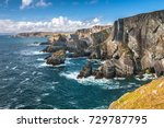 dramatic landscape at mizen... | Shutterstock . vector #729787795