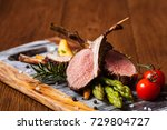 Baked Lamb Loin  Served With...