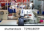 sewing factory  nobody ... | Shutterstock . vector #729818059