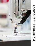 sewing or overlock machine... | Shutterstock . vector #729818095