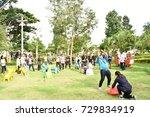 28.09.2017 activity outdoor... | Shutterstock . vector #729834919