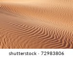Intricate Curves Of Sand Waves...