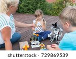 robotics class in school or... | Shutterstock . vector #729869539