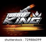 turbo king concept vector   Shutterstock .eps vector #729886099