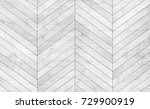 natural gray wooden parquet... | Shutterstock . vector #729900919