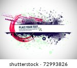 abstract grunge border design... | Shutterstock .eps vector #72993826