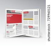 reading world business news.... | Shutterstock . vector #729960121