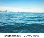 blue sea and perfect sky | Shutterstock . vector #729974041