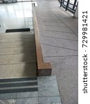 Small photo of ramp for the wheelchair and stairs for normal people adjoining
