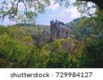 eltz castle in rhineland... | Shutterstock . vector #729984127