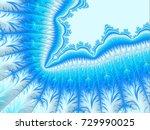 Christmas Aqua Blue Border Or...