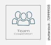 team concept illustration....   Shutterstock .eps vector #729999535