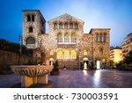 saint demetrius basilica in...   Shutterstock . vector #730003591