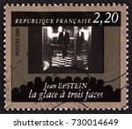 france   circa 1986  a stamp... | Shutterstock . vector #730014649