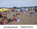 lanzarote  spain   august 21 ... | Shutterstock . vector #730019251