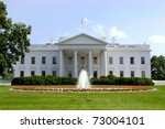 Small photo of White House. Official residence and principal workplace of the President of the United States. Located at 1600 Pennsylvania Avenue NW in Washington, D.C.