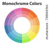 color scheme  monochrome colors....   Shutterstock .eps vector #730042561