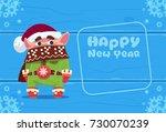 Cute Elf On Happy New Year...