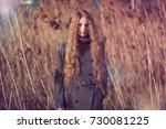 outdoor atmospheric lifestyle... | Shutterstock . vector #730081225