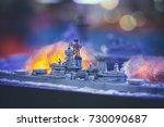 Battleship Model.