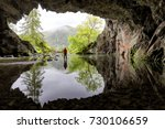 lake district cave | Shutterstock . vector #730106659
