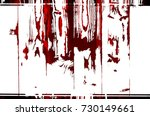 red black white aged grunge... | Shutterstock . vector #730149661