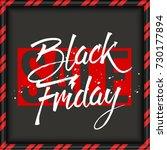 abstract vector black friday... | Shutterstock .eps vector #730177894