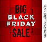 abstract vector black friday... | Shutterstock .eps vector #730177951