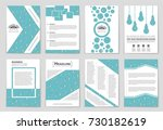 abstract vector layout... | Shutterstock .eps vector #730182619