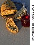 artisan made savoy olive loaf...   Shutterstock . vector #730186975