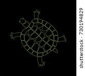 hand drawn tortilla. doodle...   Shutterstock .eps vector #730194829