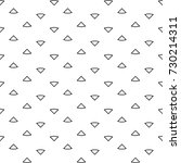triangular outlines wallpaper.... | Shutterstock .eps vector #730214311