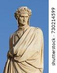 Small photo of Dante Alighieri statue