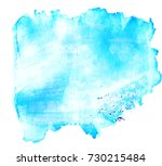 colorful abstract watercolor... | Shutterstock .eps vector #730215484