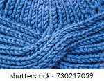 knitted background. knitted... | Shutterstock . vector #730217059