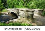 bridge minnehaha creek  | Shutterstock . vector #730226401
