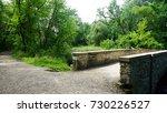 bridge minnehaha creek  | Shutterstock . vector #730226527