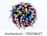 color pencil photo for your...   Shutterstock . vector #730228627