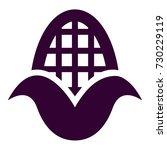 corn cob icon | Shutterstock .eps vector #730229119