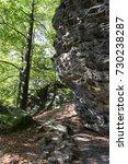 autumn landscape in the czech... | Shutterstock . vector #730238287