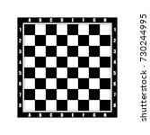 chess tabel vector icon. | Shutterstock .eps vector #730244995