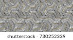 3d Stone Geometry Panels With...