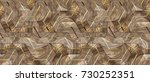 wood design 3d texture with... | Shutterstock . vector #730252351