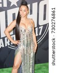 Small photo of Rapper CARDI B attends the 2017 BET HIP-HOP AWARDS red carpet on Friday, October 6th, 2017 at the FILLMORE MIAMI BEACH AT THE JACKIE GLEAN THEATER - USA