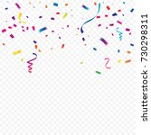 party and celebration... | Shutterstock .eps vector #730298311
