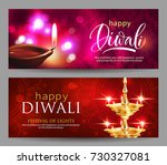 banners with greeting for hindu ... | Shutterstock .eps vector #730327081