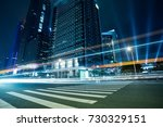 the urban traffic at shenzhen... | Shutterstock . vector #730329151